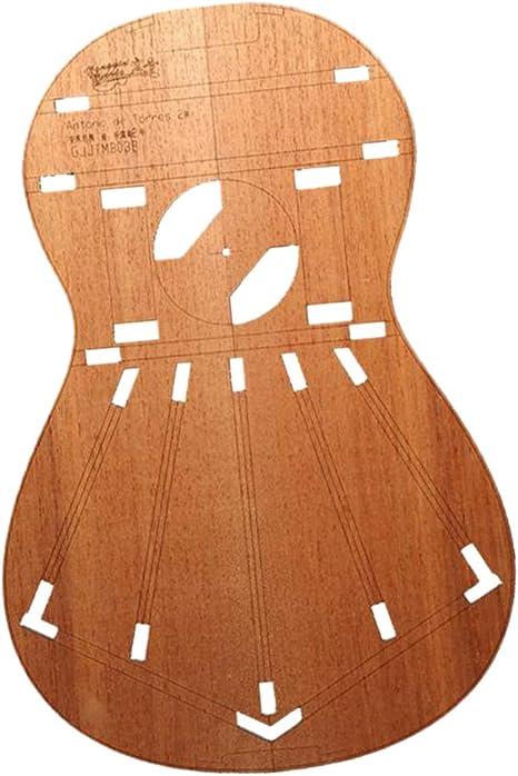 Plantillas De Diseño De Cuerpo De Guitarra Clásica Sólida Para ...
