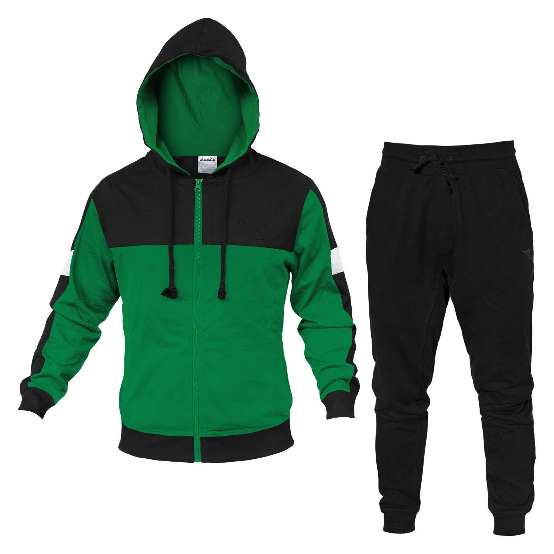 Diadora - Tuta HD FZ Suit Core per Uomo  Amazon.it  Abbigliamento 367dbe07823