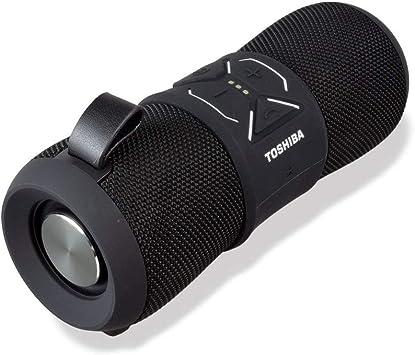 Toshiba Bluetooth Speaker  Wireless Speaker with Bluetooth Tech  8+ Hour  Battery Life  Built in Microphone  Portable Speaker w/Deep Base Tech is