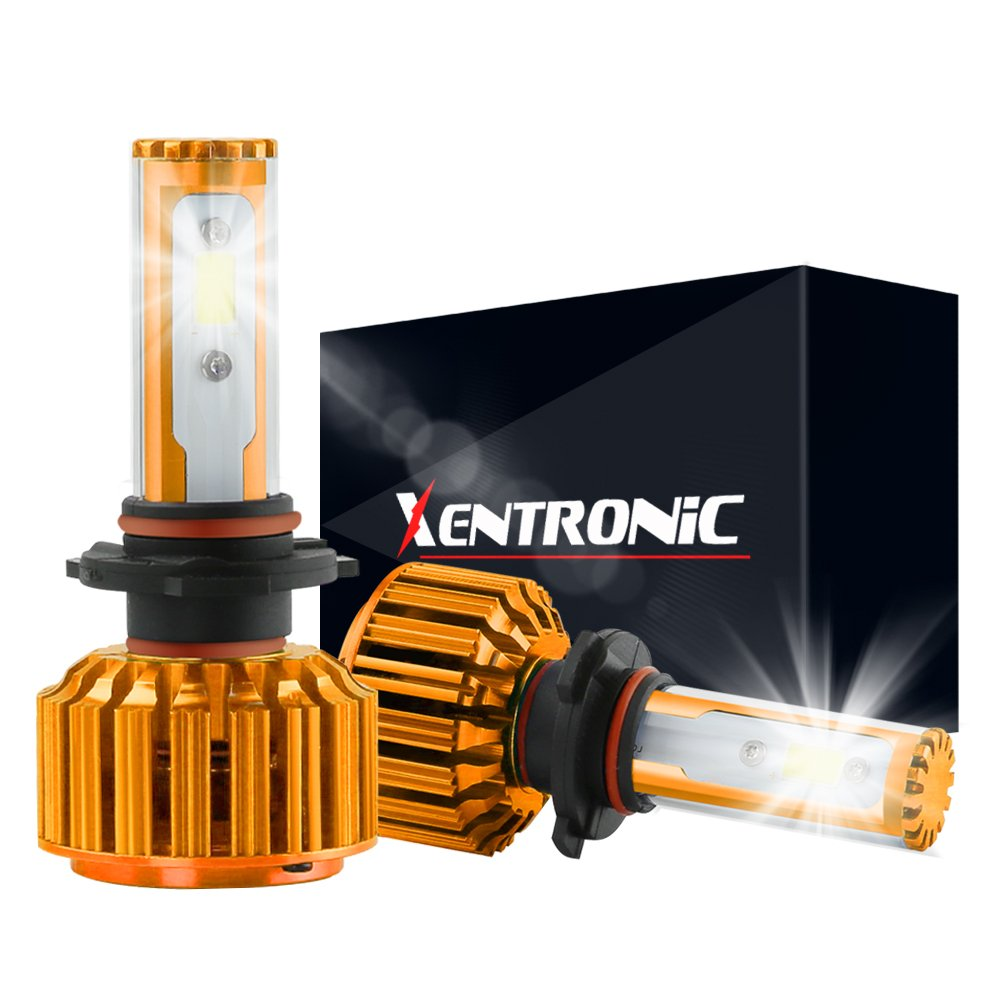 1 pair, Cool White XENTRONIC H1 LED Headlight Foglight Bulb for any H1 Halogen Headlight Bulb upgrade to LED
