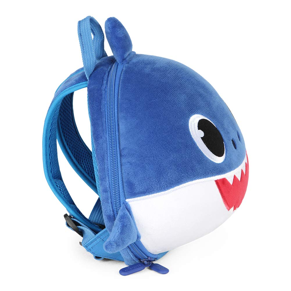 Supercute Shark Backpack With Leash Animal Outdoor Toddler Backpack for 1-6 Years Old Boys and Girls.