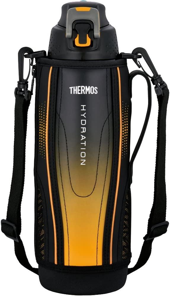 Thermos Water Bottle Vacuum Insulation Sports Bottle [one-touch open type] 1.5l