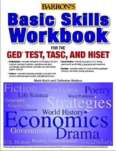 - Basic Skills Workbook For The GED TEST, TASC, And HiSET (Barron's Pre-Ged)