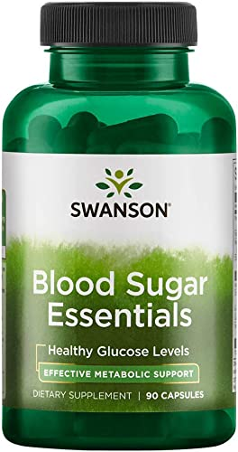 Swanson Blood Sugar Essentials with Cinnamon Extract 90 Capsules