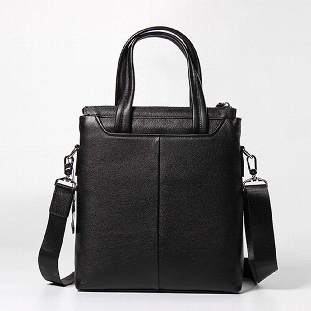 RICHARD BALDWIN Leather Mens Bag Mens Vertical Handbag First Layer Leather Business Bag Fashion Business Bag Color : AS Photo
