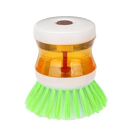 TAOtTAO - Cepillo con detergente para lavavajillas dispensador de ...