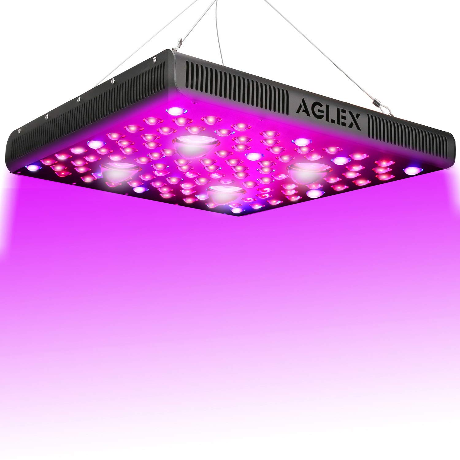 2000 Watt LED Grow Light, Full Spectrum UV IR COB Series Plant Grow Lamp,  with Daisy Chain, Veg and Bloom Switch, for Hydroponic Greenhouse Indoor