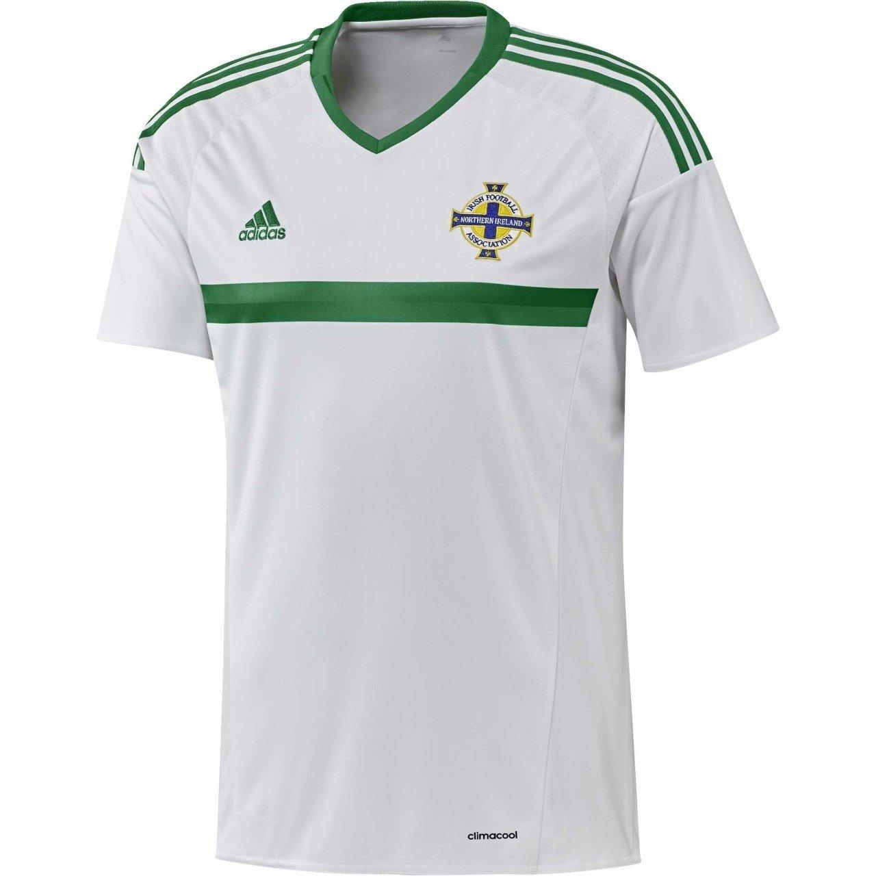 adidas 2016-2017 Northern Ireland Away Football Shirt: Amazon.es ...