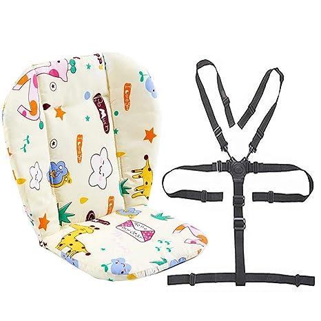 Cochecito de bebé/Silla alta Cojín del asiento Forro de la ...