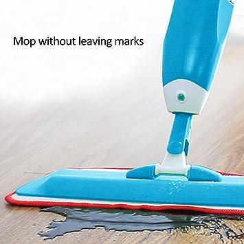 Gezichta Bodenwischer Mit Integriertem Spray, Mikrofaser Flachwischer Spray  Wasser Mop Nachfüllbar Flasche | Für Hartholz