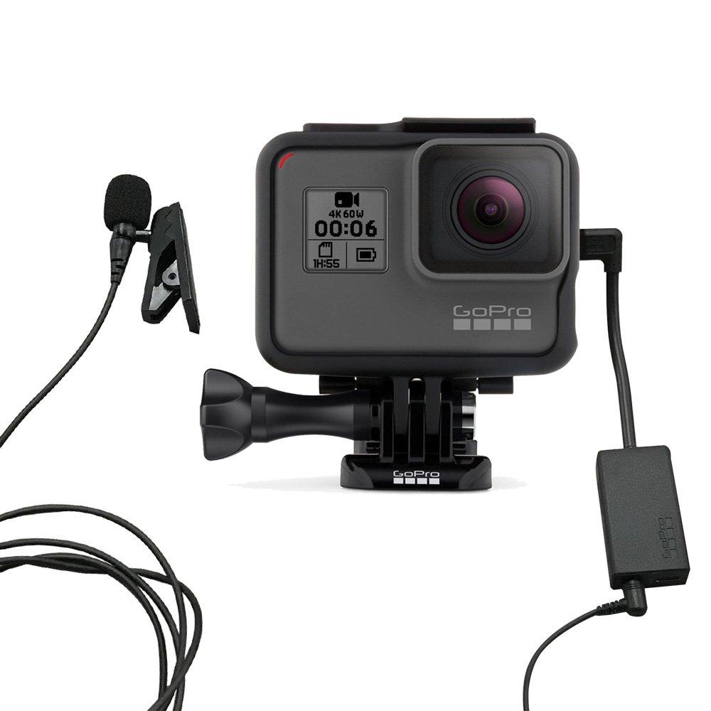 GoPro HERO6 BLACK(audio-technica モノラルピンマイク付セット)   B07DTD21V3
