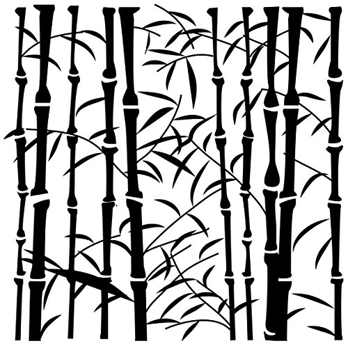 CRAFTERS WORKSHOP TCW6X6-254S Framing Template, 6 by 6-Inch, - Stencil Bamboo