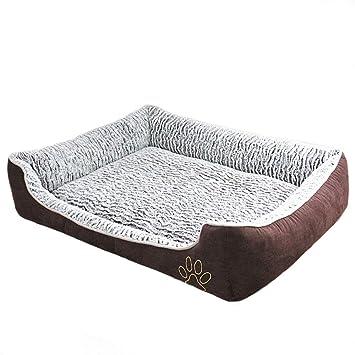 XSQRGG Cómodo Casa para Mascotas Cama para Perros Perrera Gato del Perro De Perrito Sofa House Bed,L: Amazon.es: Deportes y aire libre