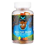 High Level Healthy Bears | Natural Gummy Multivitamins for Kids | 90 Fruit Flavored...