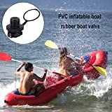 Dilwe Inflatable Boat Valve, 2 Pcs Quality ABS