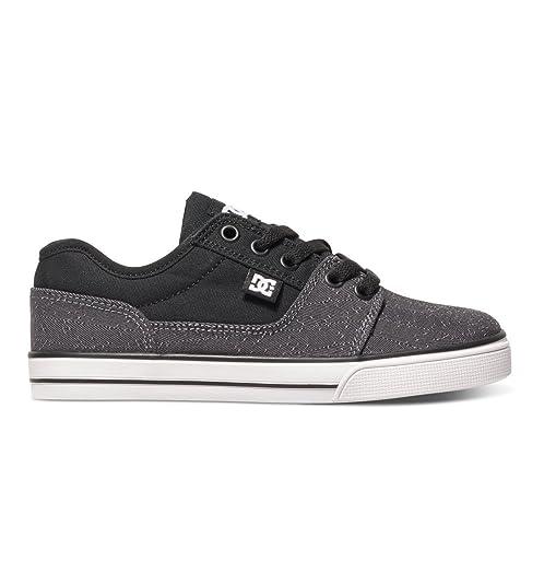 DC Tonik Boys Skate Shoes - Black/Red/Grey - Good Sale