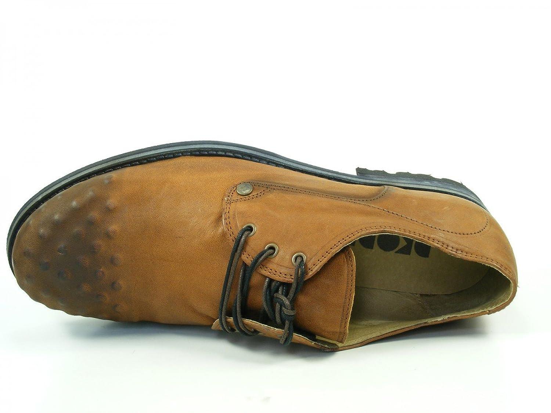 Dkode Zapatos de cuero para hombre Tyne, schuhgröße_1:46 EU;Farbe:noir