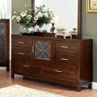 Drexel Transitional Style Brown Cherry Finish Bedroom Dresser