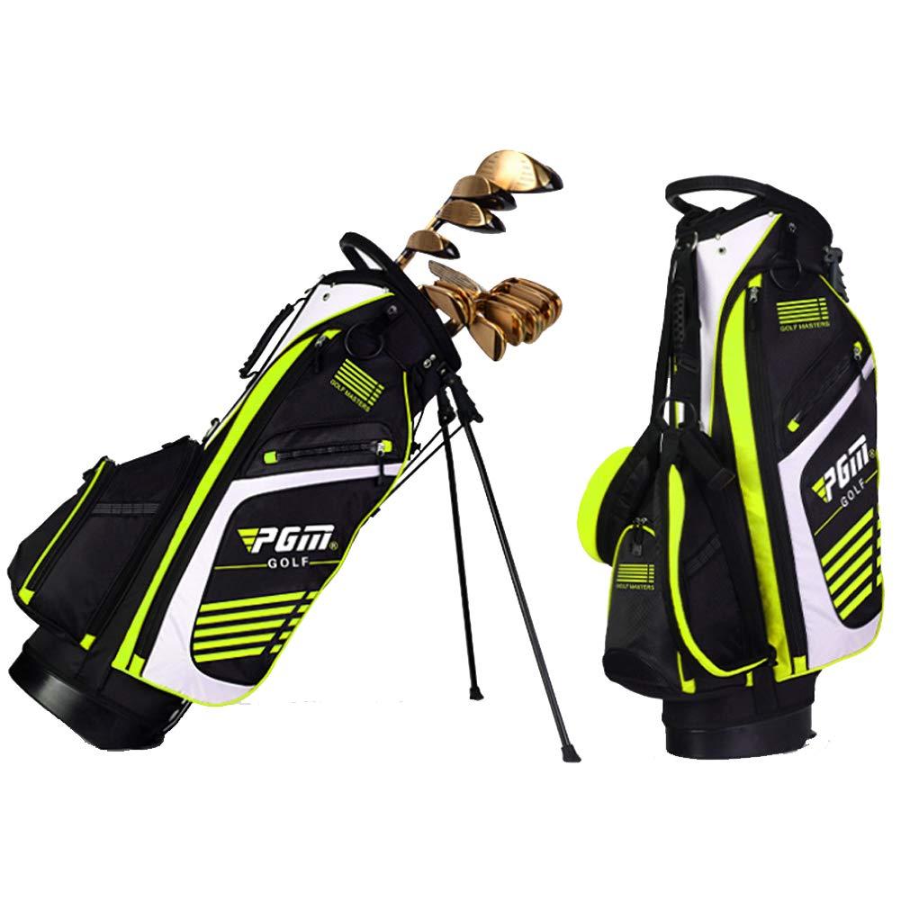 Dilraba ゴルフ キャディバッグ 2019年 キャディーバッグ アスリートスポーツ キャディバッグ 35インチ対応 最大14本収納可能 セルフスタンド クラブケース ブラケット付き  グリーン B07NL4T7HZ