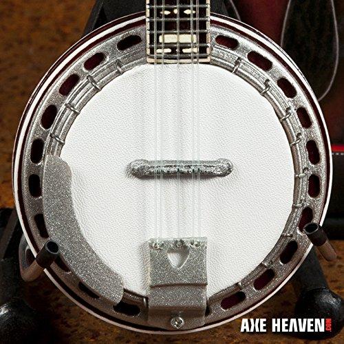 (EARL SCRUGGS Classic Bluegrass Banjo Miniature Handmade Replica )