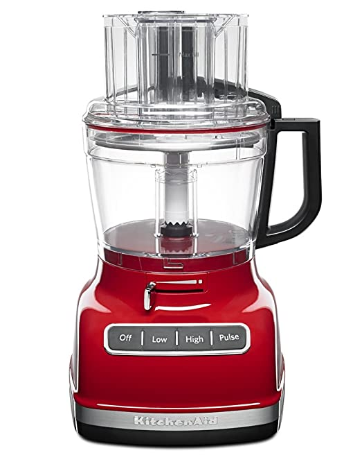 KitchenAid KFP1133ER 11-Cup Food Processor with Exact Slice System - Empire Red by KitchenAid