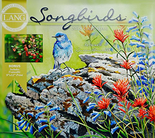Songbirds 2018 Lang Wall Calendar Special Edition