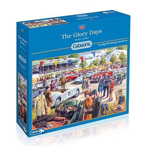 [Gibsons The Glory Day Jigsaw Puzzle (1000 Pieces)] (Era Cardboard Jigsaw)