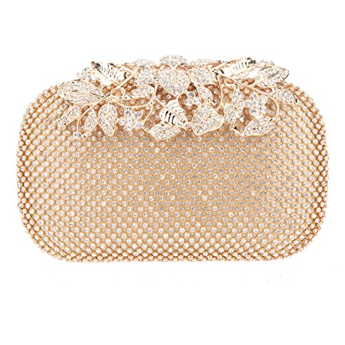 Flowers Gold Bag - 1