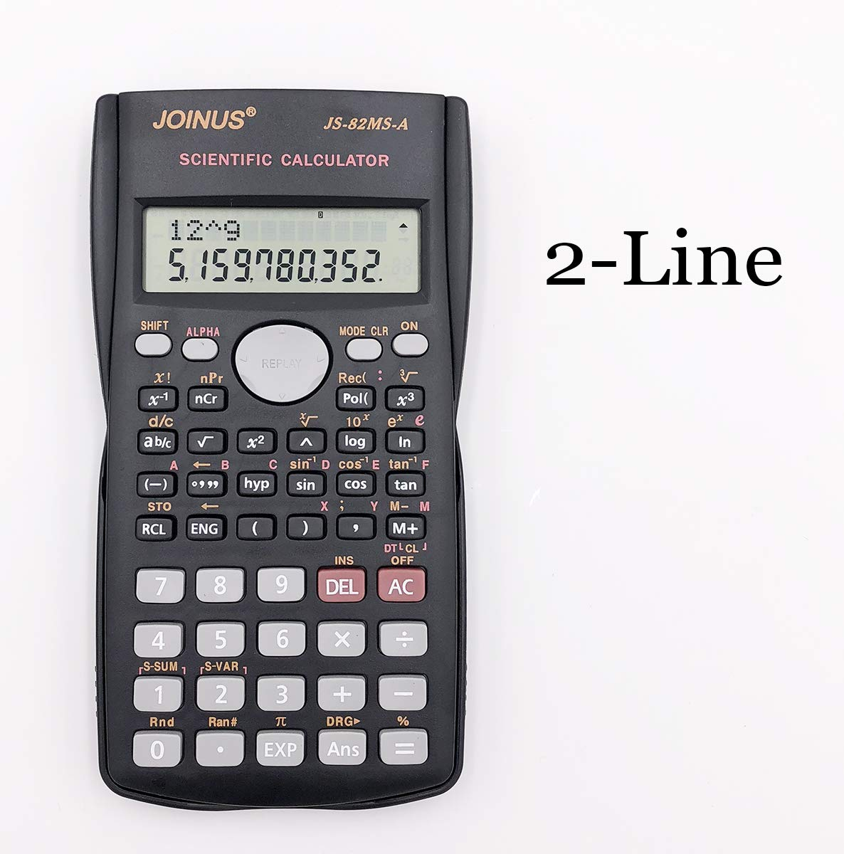 SUNYANG 8 Packs, 2-Line Engineering Scientific Calculator Function Calculator for Student and Teacher by SUNYANG (Image #3)