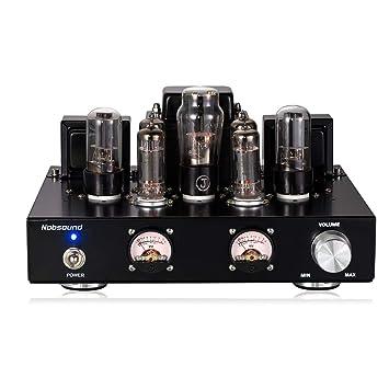 nobsound 6p1 6.8 W * 2 Vacuum Tube Power Amplifier; Stereo Audio de Class A Single Ended Amp mano Craf Ted Amplificador de audio