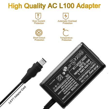 Amazon.com: AC-L100 Cargador de corriente CA para Sony ...
