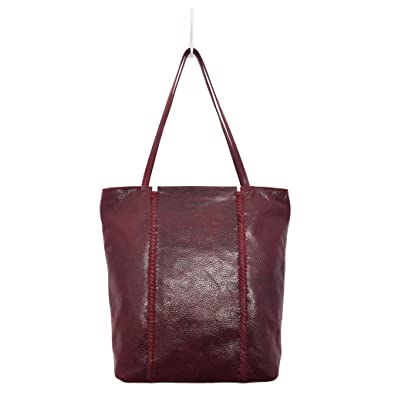 4bc5eab5e0 Amazon.com: Latico Leathers Camden Tote Bag, 100 Percent Luxury Leather  Designer Made, Weekend Casual Fashion, Metallic Olive: Shoes