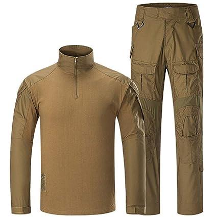 SGOYH Traje de Camuflaje de Uniforme Transpirable de Combate ...