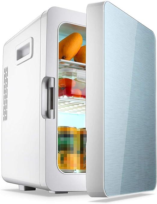 AIBAB Mini Nevera Refrigerador del Coche Tipo De Puerta Única Refrigeración De Un Solo Núcleo 220V / 12V 56W 20L: Amazon.es: Jardín