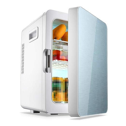 AIBAB Mini Nevera Refrigerador del Coche Tipo De Puerta Única ...