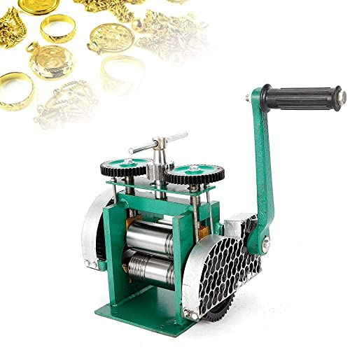 3 Manual Combination Rolling Mill Machine Jewelry Press Tabletting Tool Jewelry DIY Tool Make Sheet Wire Flat 85mm