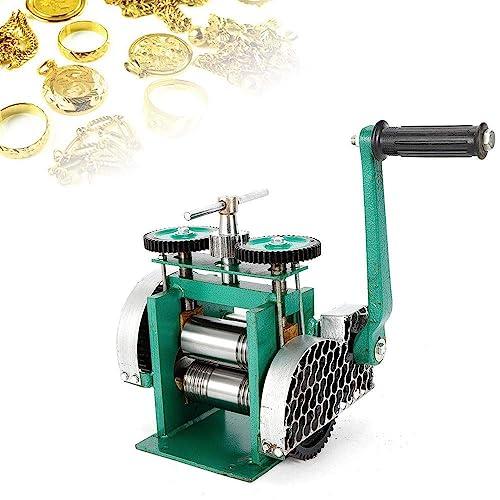 3 Manual Combination Rolling Mill Machine Jewelry Press Tabletting Tool Jewelry DIY Tool Make Sheet Wire Flat 85mm