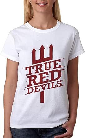 kharbashat Manchester United F.C. T-Shirt For Women, Size XXL, White
