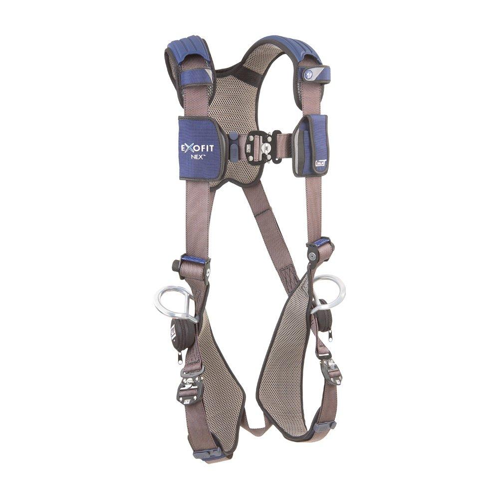 DBI/Sala 1113052 ExoFit NEX Vest-Style Full Body Harness, Blue/Gray, Large