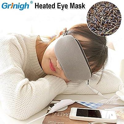 Amazon.com: grinigh sueño vapor caliente Máscara para los ...