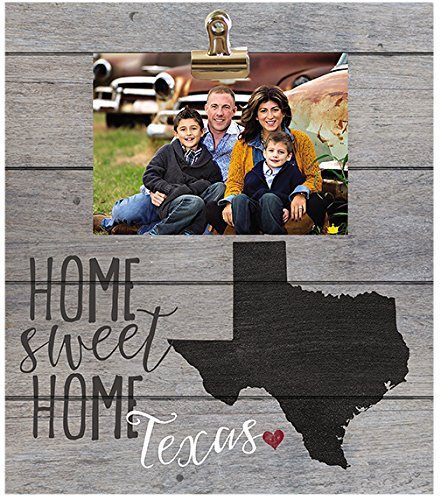 Amazon.com: Kindred corazones Texas Home Sweet Home marco ...