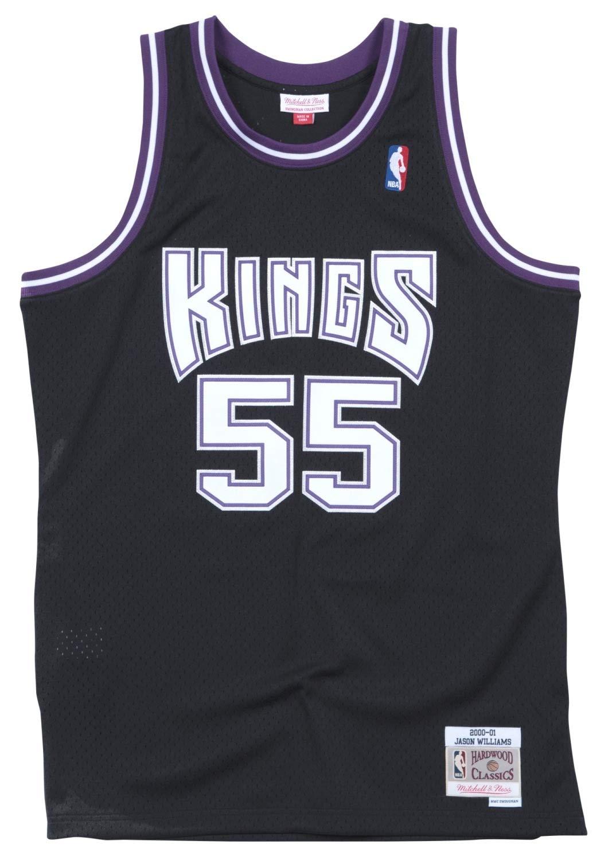 promo code 3462d 652fe Amazon.com   Mitchell   Ness Jason Williams Sacremento Kings Men s Black  Throwback Jersey   Clothing