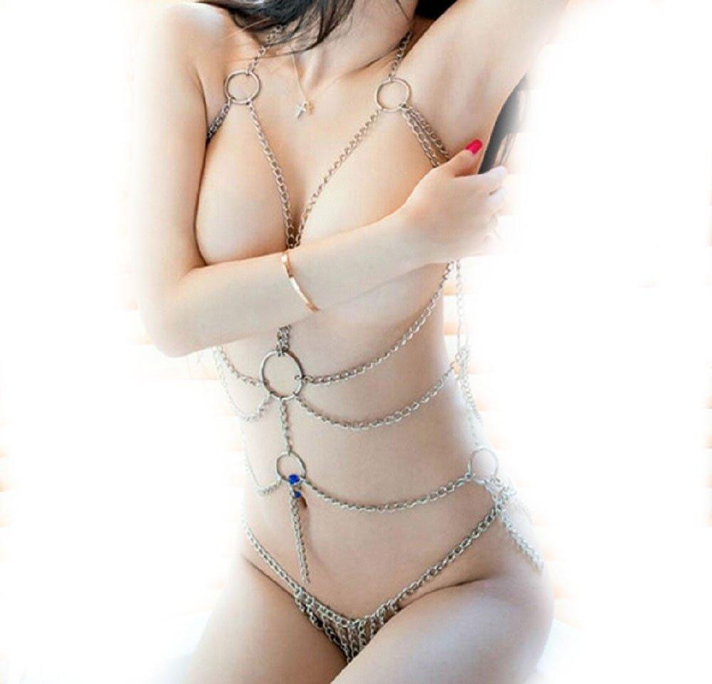 EFF-cientt® Sexy Lingerie Chain Set BDSM Tassel Body Harness Chain