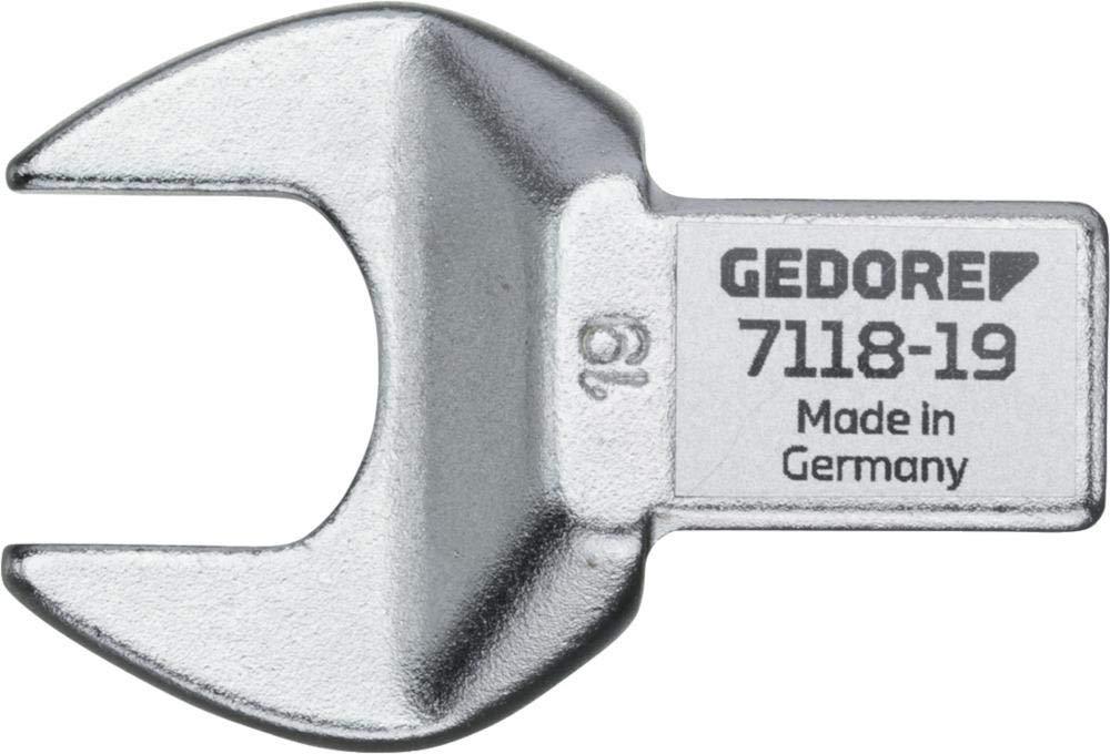 Cabeza de llave de boca abierta SE 14x18 18 mm Gedore 7118-18