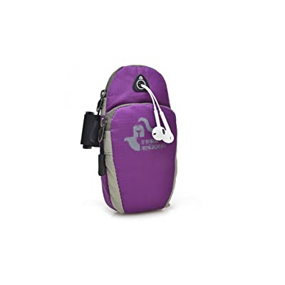 Sport mobile bras sac hommes et femmes exécutant l'équipement bras manchon poignet sac fournitures de plein air bras avec sac de bras