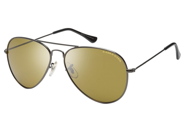 Eagle Eyes Classic Polarized Over Sized Aviator Sunglasses