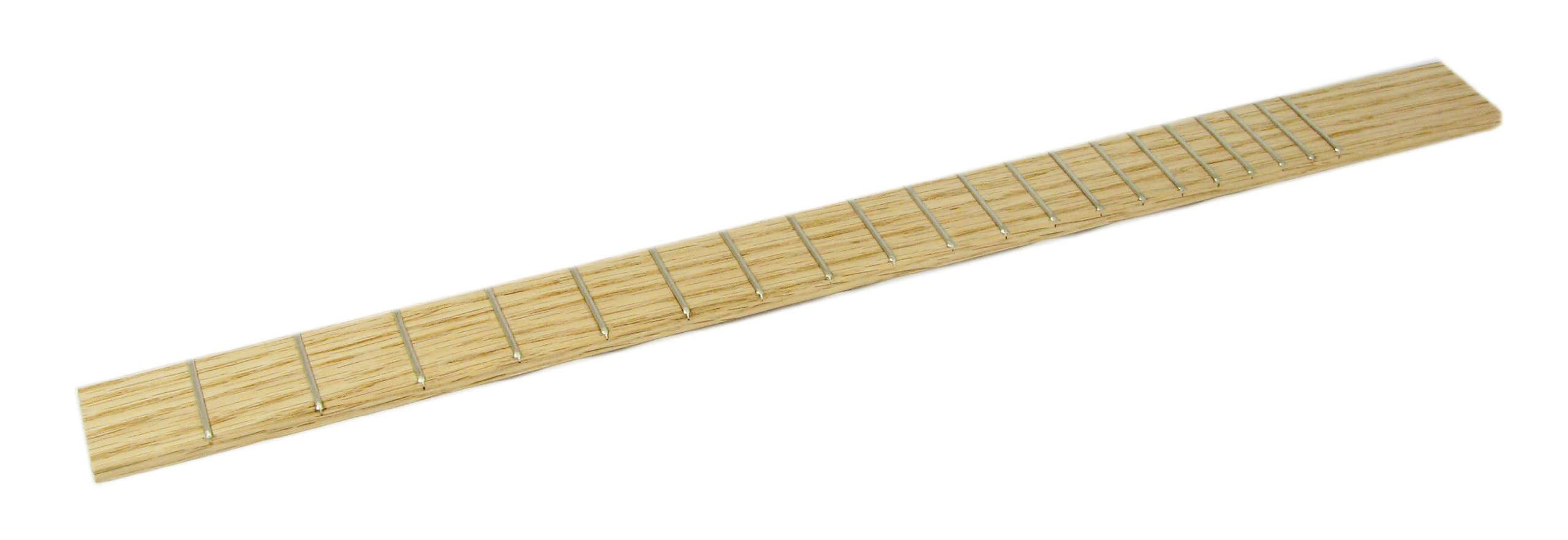 Cigar Box Guitar Fretboard - Fully Fretted Red Oak - Professional Quality, Made in the USA