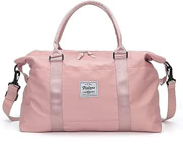 Bolsas de viaje para mujer, equipaje de mano de fin de semana para mujer, bolsa de gimnasia deportiva, bolsa de hombro para noche Bolsa de ordenador portátil para mujer