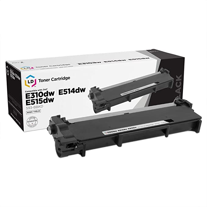 Black S5830DNExtra High Yield Works with My Office Stock Compatible Toner Replacement for Dell 593-BBYU