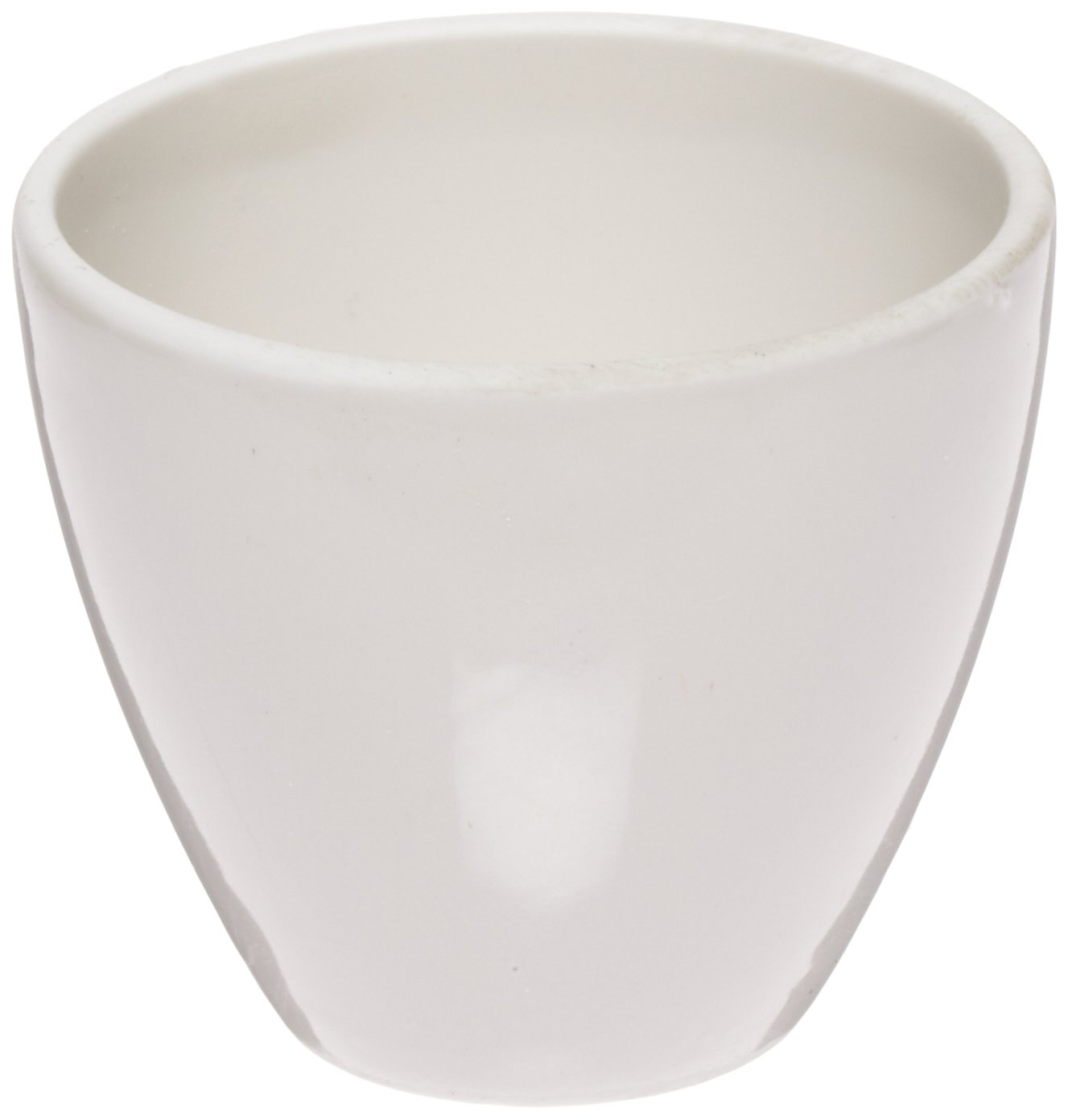 CoorsTek 60105 Porcelain Ceramic High Form Crucible, 15mL Capacity, 35mm OD, 29mm Height (Case of 72)